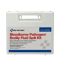 First Aid Only OSHA Bloodborne Pathogen Spill Clean Up Kit, Plastic