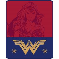Wonder Woman 'Lady of Hope' Kids Silky Soft Throw, Twin