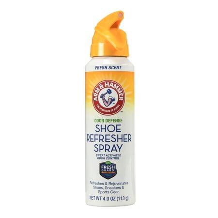 Arm & Hammer Odor Defense Shoe Refresher Spray, 4 Oz