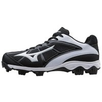 Mizuno 9-Spike Advanced Finch Franchise 6 Molded Fastpitch Softball Cleat - Black/White 11