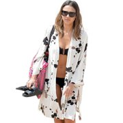 c89dcbd027 Women Bikini Swimwear Cover Up Beach Dress Bathing Swimsuit Kimono Cardigan  Tops