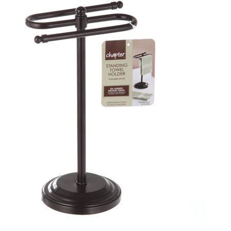 Chapter Free Standing Towel Holder Oil Rubbed Bronze Walmartcom