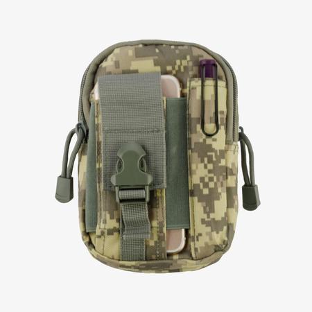 Heavy Duty Sports Waist Pack Pocket Belt for HTC One M9, Desire 555, 650, 512, 530, 10, 626, 510, One M8, 601, One/ M7, One SV, EVO 4G LTE, One X, U11 Life, 520, 526, 626S, 612