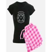 CafePress - Firefighters Wife - Women s Dark Pajamas c57f5ffce