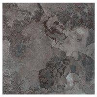 Achim Portfolio 12x12 2.0mm Self Adhesive Vinyl Floor Tile - Midnight Marble - 9 Tiles/9 sq. ft.