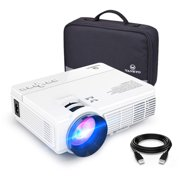VANKYO LEISURE 3 LED Mini Projector with Carrying Bag, 1800 Lumens Video Projector