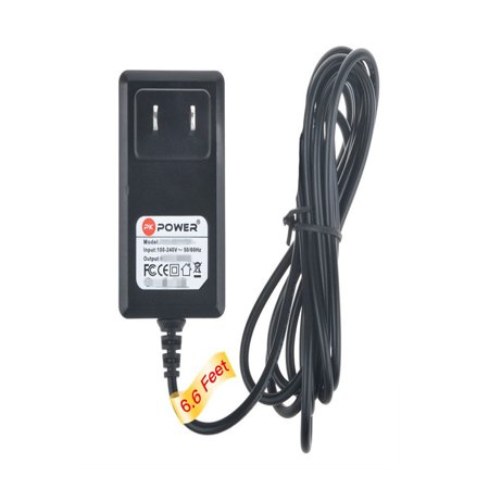 Charging Unit Base - PKPOWER 6.6FT Cable AC / DC Adapter For Vtech LS6225 LS6245 DECT 6.0 1.9 GHz Cordless Phone BASE UNIT Power Supply Cord(Only for Base unit. NOT fit handset charging cradle)