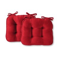 Greendale Home Fashions Hyatt 17 x 15 in. Indoor Chair Cushion, Set of 2