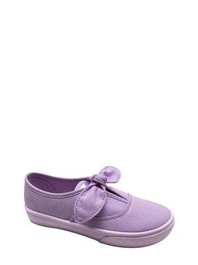 Girls' Casual Bow Slip On Sneaker