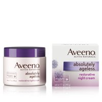 Aveeno Absolutely Ageless Restorative Night Face Cream, 1.7 fl. oz