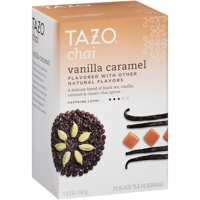 (3 Pack) Tazo Vanilla Caramel Chai Black Tea Filterbags (20 count)
