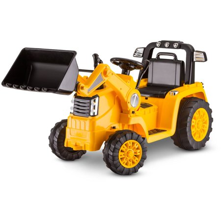 Kid Trax 6V CATERPILLAR Tractor Battery Powered Ride-On, (Childrens Tractor)