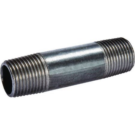 Southland 588 Pipe Nipple, 2 Inch, NPT, 12 Inch L, 150 psi Steam, 300 psi WOG, Carbon Steel, 0.154 Inch - Funny Wog