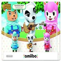 Nintendo Animal Crossing 3-Pack Animal Crossing Series amiibo, NVLEAJ3A