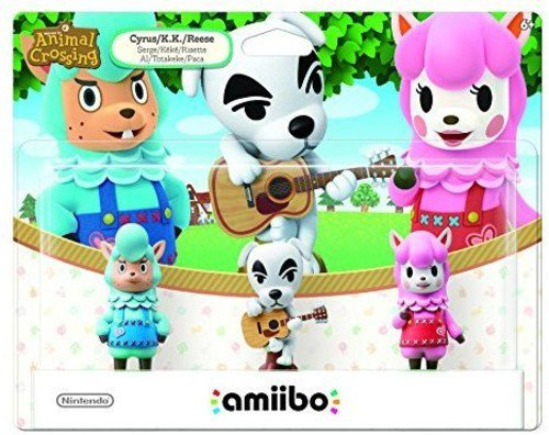 Nintendo Animal Crossing 3-Pack Animal Crossing Series amiibo, NVLEAJ3A - Animal Crossing Qr Codes Halloween
