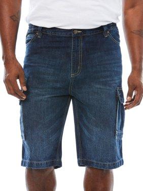 Liberty Blues Men's Big & Tall Denim Cargo Shorts