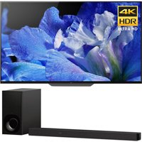 "Sony Bravia XBR55A8F 55"" OLED 4K HDR10 HLG and Dolby Vision TV 3840x2160 & Sony HTZ9F 3.1Ch 4K HDR Compatible Dolby Atmos Soundbar with Built-in WiFi & Bluetooth"