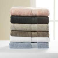 Hotel Style 100% Pima Cotton Bath Towel Collection with Air Rich Technology