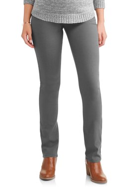 Maternity Under Belly Stretch Twill Bootcut Pants - Available in Plus Sizes