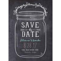 Mason Jar Standard Save the Date