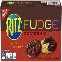 Nabisco Ritz Fudge Covered Crackers Limited Edition, 7.5 Oz.