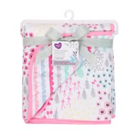 Parents Choice Jersey Knit Blanket, Pink