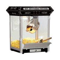 Funtime 8 oz Carnival Style Black Table Top Hot Oil Popcorn Maker Machine
