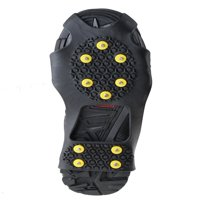 AGPtek Ice Snow Anti Slip Teeth Grip Shoe Covers Overshoes Snow Shoes Crampons Cleats S/M/L/XL