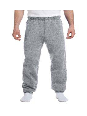 Jerzees Men's Preshrunk Waist Pill Resistant Fleece Sweatpant, Style 973M