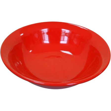 Mainstays Bright Red 4-Pack Stoneware Bowls ()