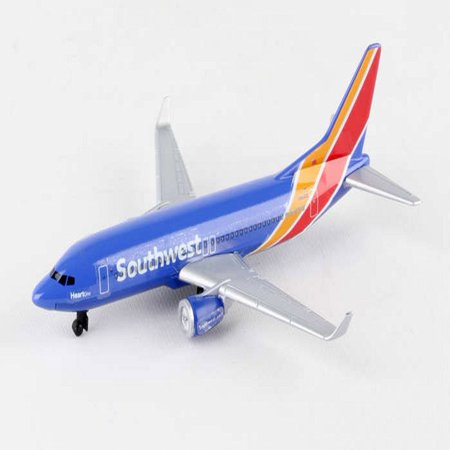 Southwest Single Plane New Livery, Blue - Daron RT8184-1 - Diecast Model Airplane (Motorcycle Replica Model)