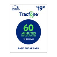 TracFone $19.99 Basic Phone 60 Minutes Plan (Email Delivery)