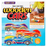 Made By Me Wooden Cars, 1 Each