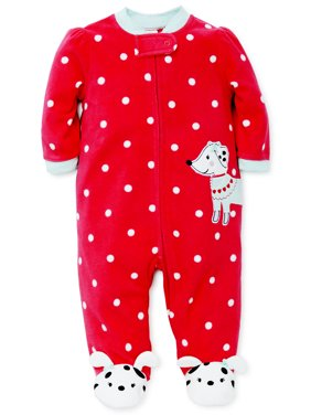 c3aaac7fa Red Baby Girls One-piece Pajamas - Walmart.com