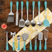 The Pioneer Woman Frontier Collection 15-Piece All In One Tool and Gadget Set, Multiple Colors