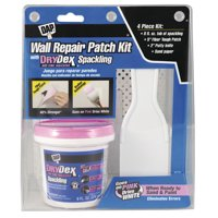 DAP Wall Repair Patch Kit with Drydex Spackling, 8 oz