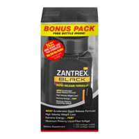 Zantrex Black Weight Loss & Energy Dietary Supplement, Liquid Soft Gels, 84 Ct