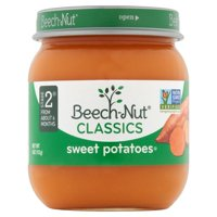 (10 Pack) Beech-Nut Classics Stage 2 Sweet Potatoes Baby Food, 4 oz