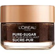 L'Oreal Paris Pure Sugar Scrub Resurface and Energize Coffee Facial Scrub, 1.7 fl. oz.