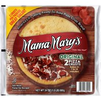 (2 Pack) Mama Mary's™ Original Pizza Crusts 2 ct Pack