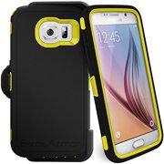 """Samsung Galaxy S6 """"Exos Armor"""" Tough Case & Belt Clip"""