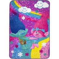 Dreamworks Trolls Poppy Life Kids Bedding Plush Blanket