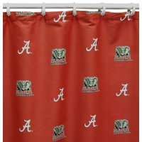 """College Covers NCAA Licensed Shower Curtain, 72"""" x 70"""""""
