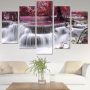 Multi Style 5Pcs Modern Abstract Picture Print Canvas Oil Painting Art Wall Home Mural Decor