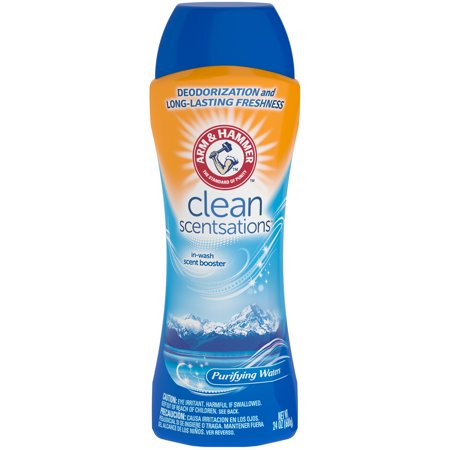 (2 pack) Arm & Hammer Clean Scentsations In-Wash Scent Booster - Purifying Waters, 24