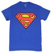 ef23887e725a9 Superman (DC Comics) Mens T-Shirt - Classic Red   Yellow Logo