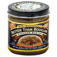 Better Than Bouillon Reduced Sodium Chicken Base, 8.0 OZ