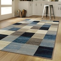 """Superior's 10mm Pile Height with Jute Backing, Durable, Fashionable and Easy Maintenance, Rockaway Collection Area Rug, 2'7"""" x 8' Runner - Multi Color"""
