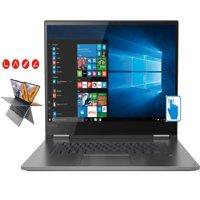 "Lenovo Yoga 730 15.6"" Convertible 2-in-1 Laptop, Intel 8th Gen i5-8250U Quad-Core, 16GB RAM, 256GB PCIe SSD, 15.6"" FHD 1920 x 1080 Touchscreen 360° Flip-and-Fold, Fingerprint, Thunderbolt, Win 10 Home"