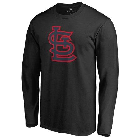 St. Louis Cardinals Taylor Long Sleeve T-Shirt - Black